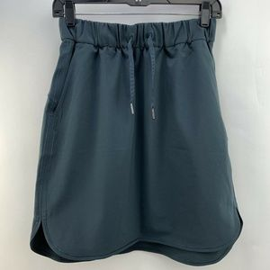 Lululemon On The Fly Skirt High Low Curved Hem 6